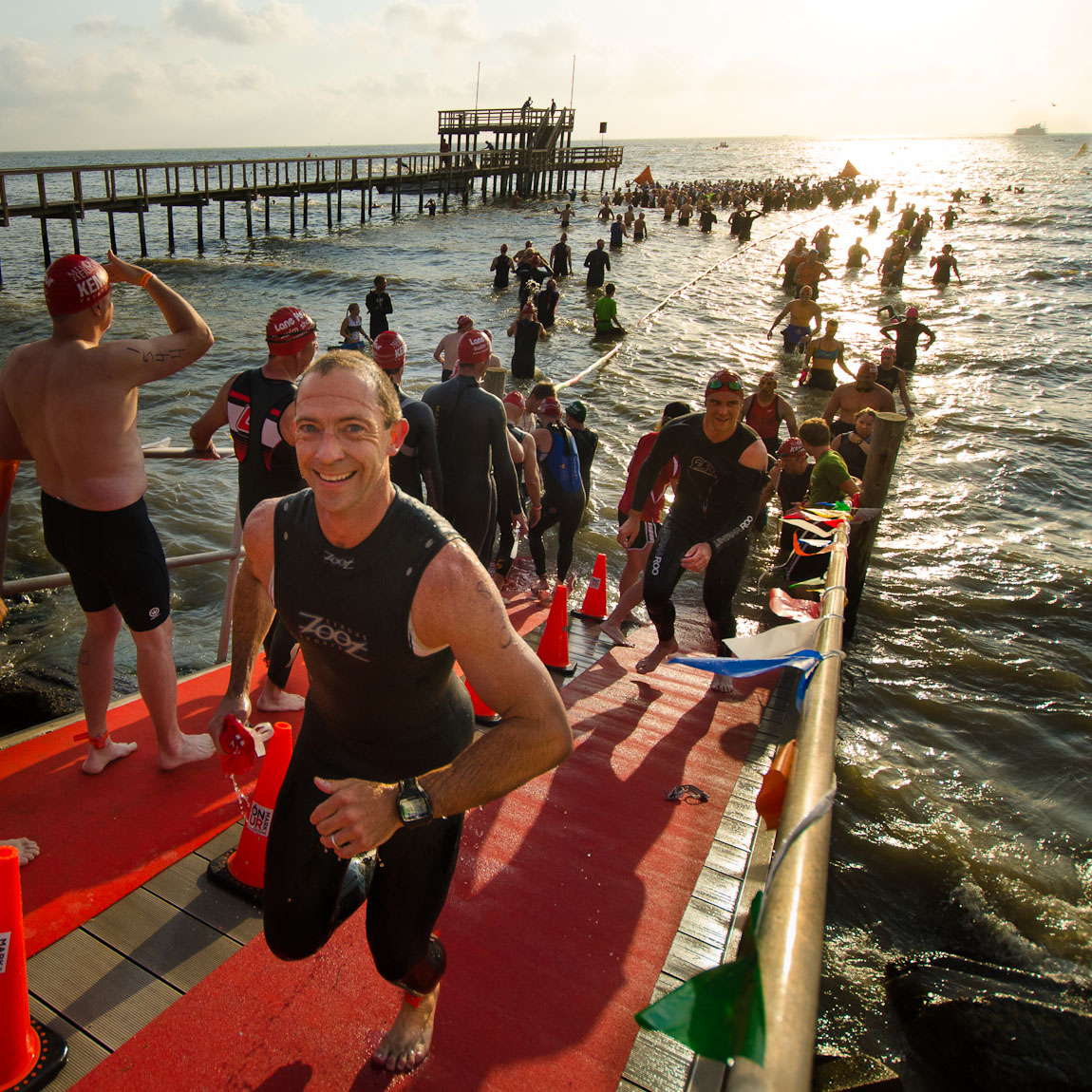 The Kemah Triathlon (with my new camera)