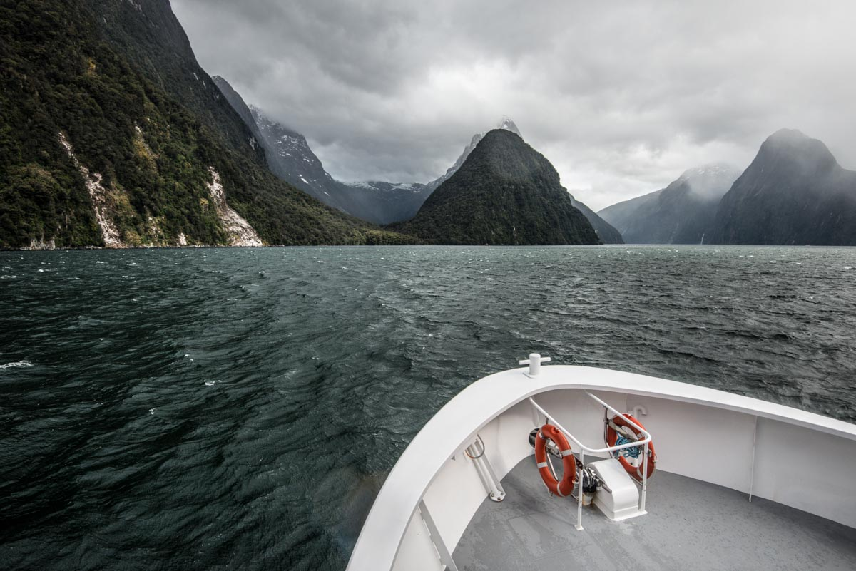 Milford Sound:  Fjordlands, New Zealand