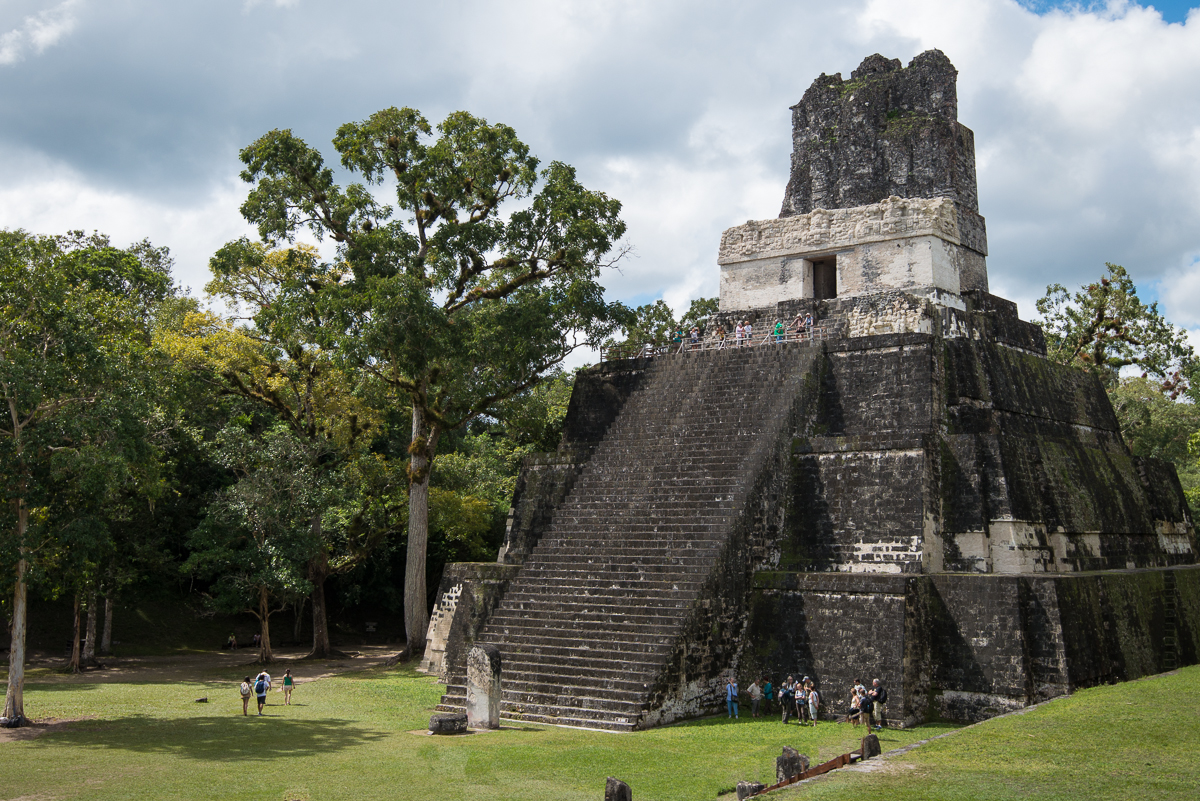 Tikal, Guatemala:  A Glimpse of the Americas in 900 A.D.
