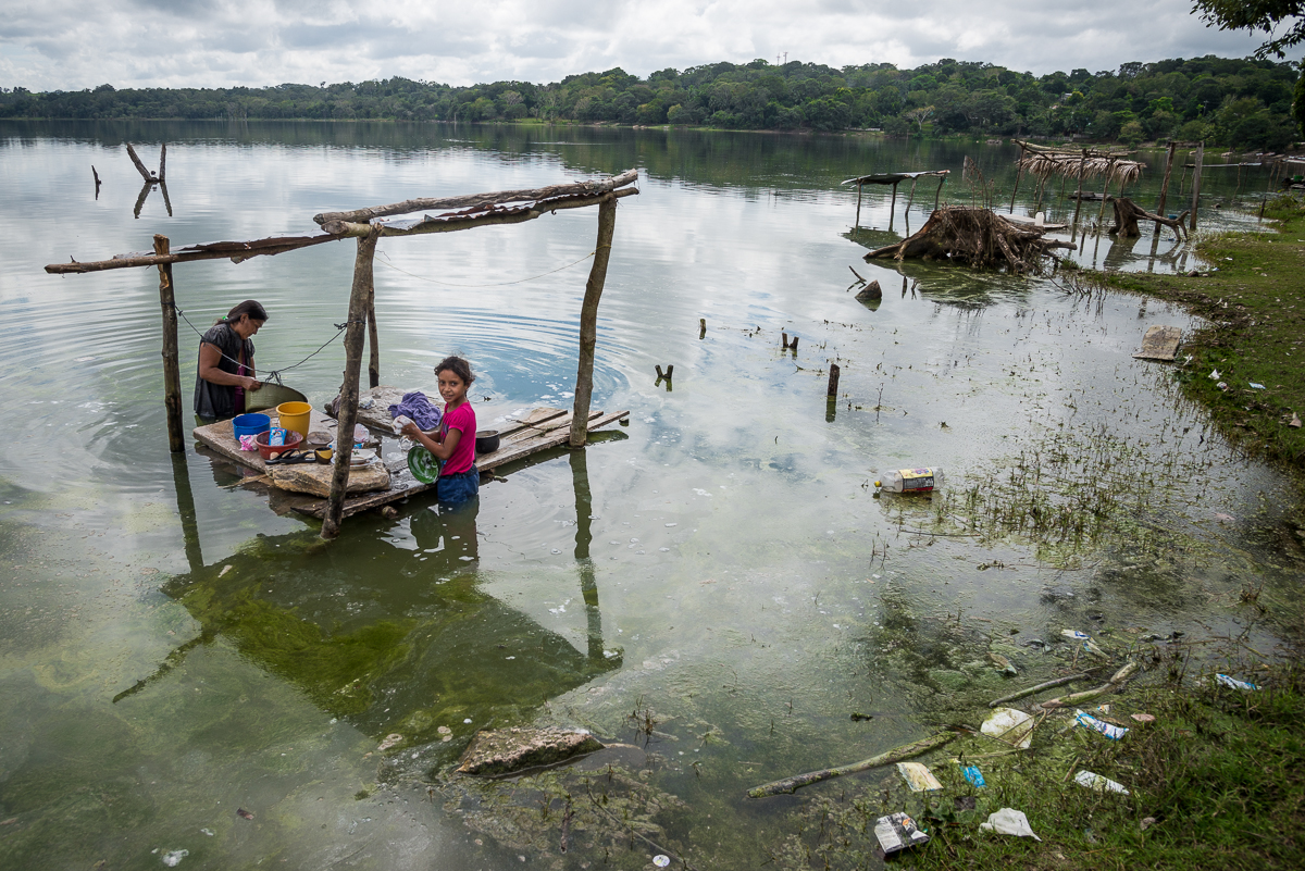 Laundry Day:  Peten, Guatemala