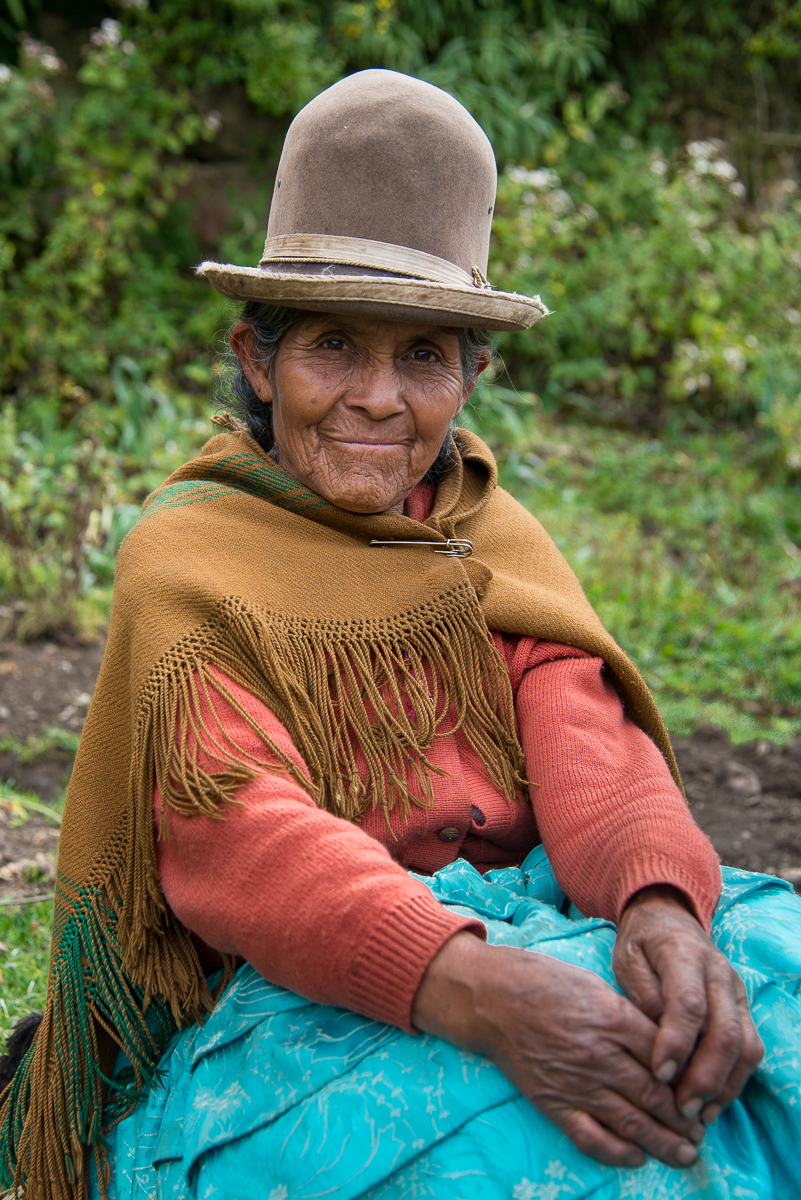Faces of Capayque, Bolivia