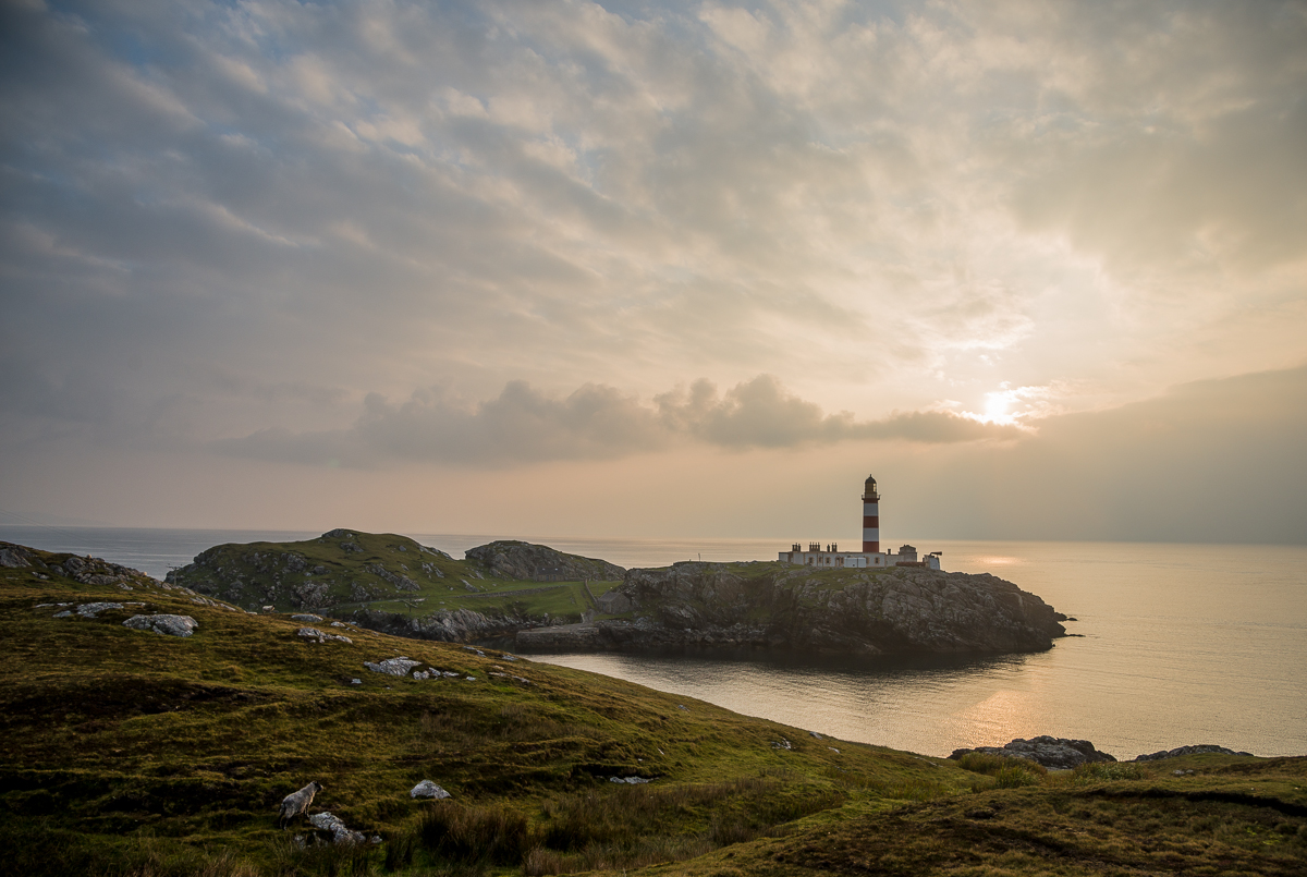 Scotland 2014:  Lighthouses, Sheep, and Dead Economists
