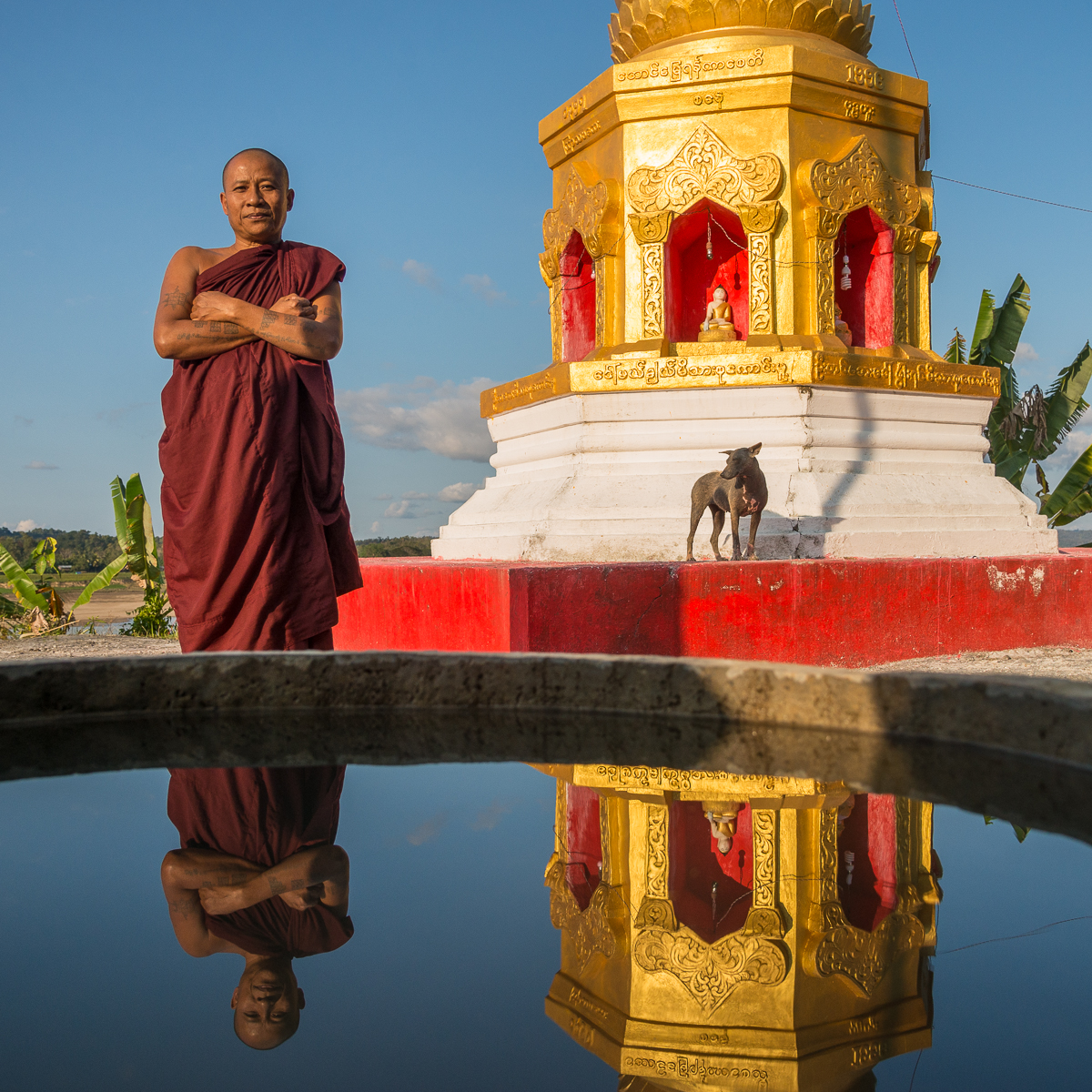 Buddha on the Chindwin