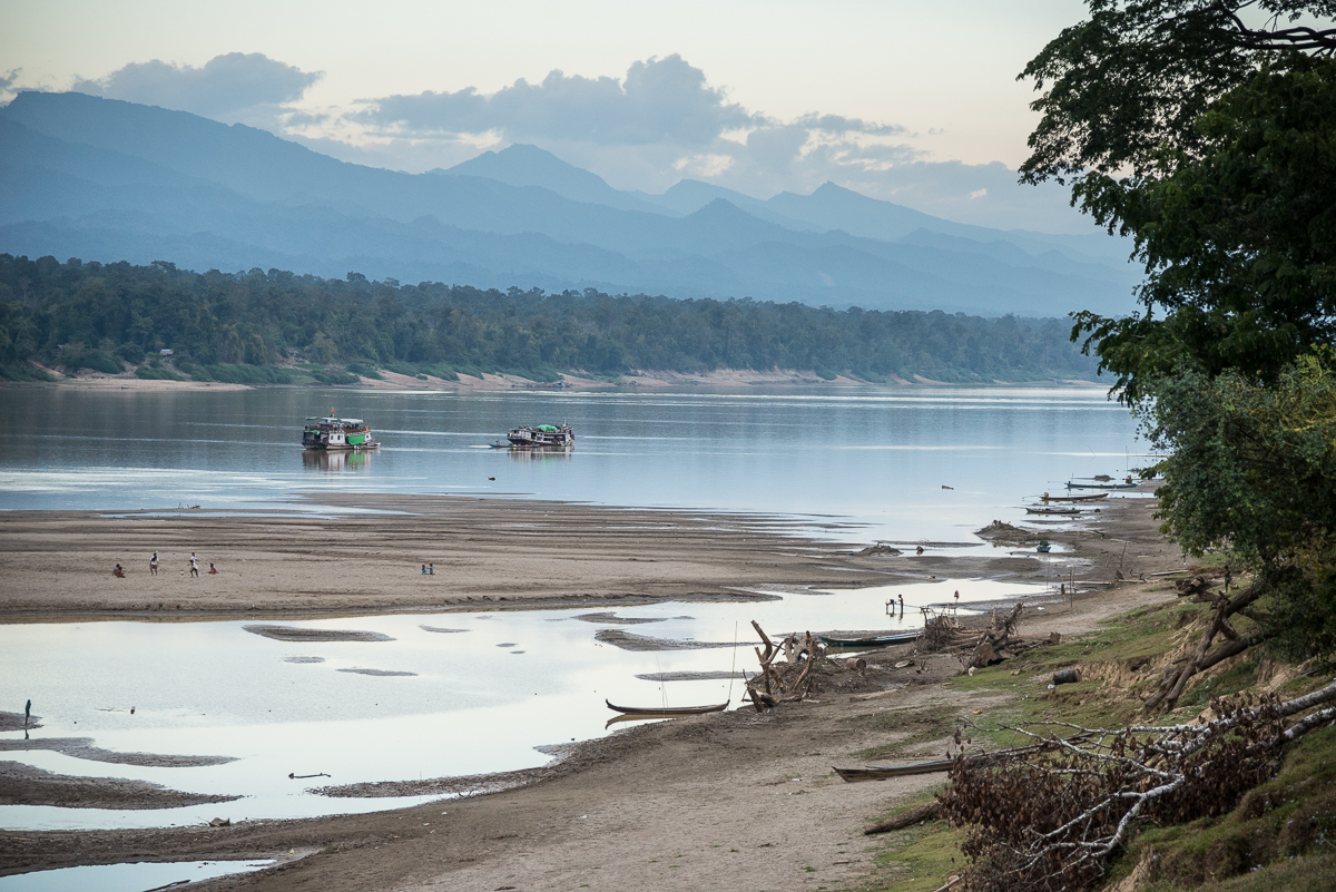 Scenes from the Chindwin River, Burma (Myanmar)