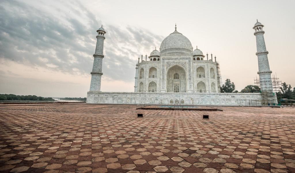 Crown of Palaces:  The Taj Mahal in Agra, India