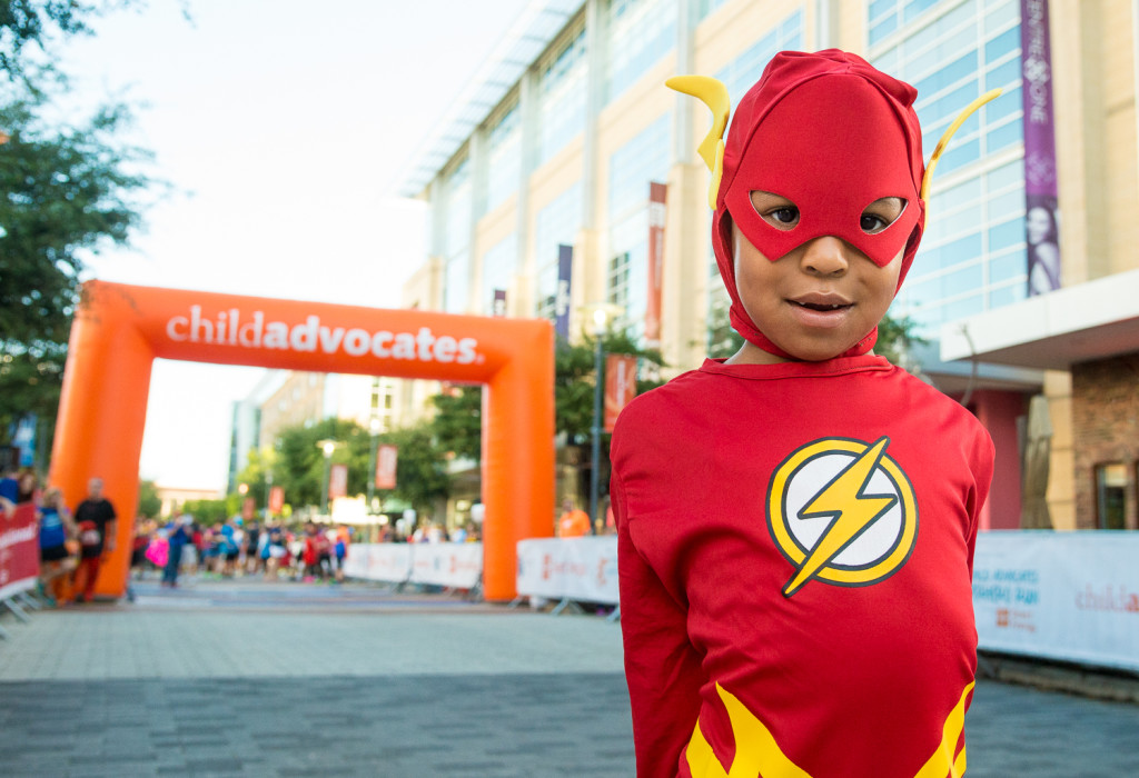 Superheroes Run #4 for Child Advocates of Houston