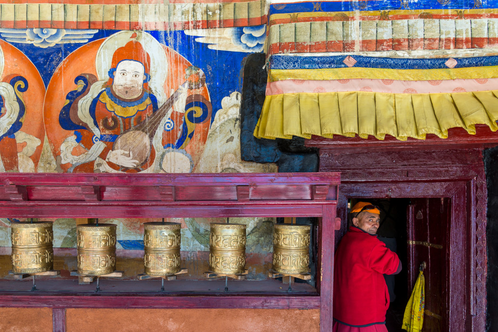 Ladakh, India:  Buddha on the Indus