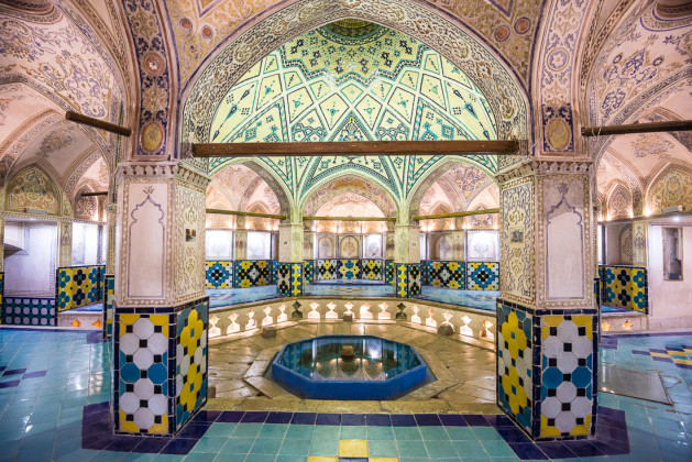 The old Hamam (bathhouse).