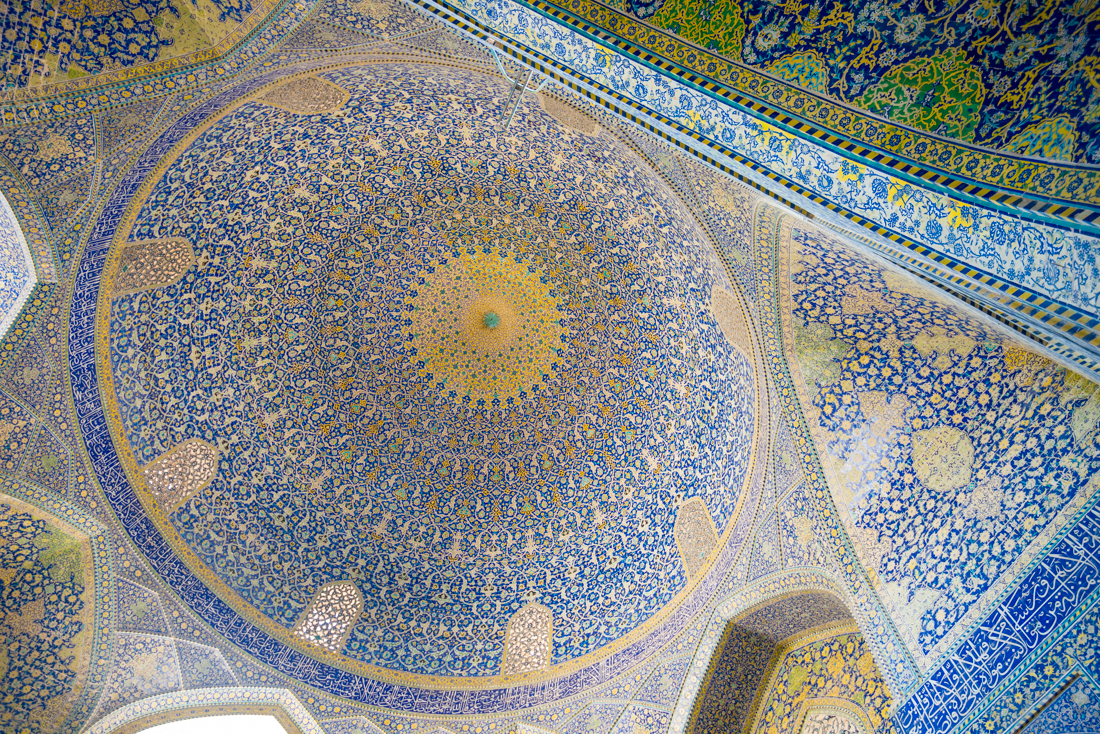 Iran:  Blue Tiles of Isfahan
