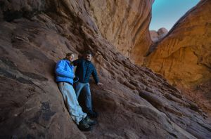 _JJC7052 Happy Couple on Double Arch Rocks.jpg